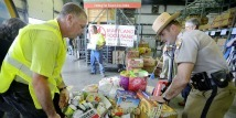 3,330 Pounds of Food Collected for Western Branch