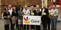 That's No Spring Chicken — Giant Partners with MFB to Donate Hams